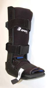 Walking boot exposes more character defects