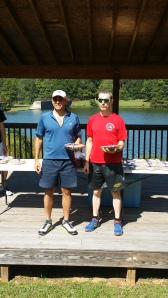 Jeff Gaura first place overall at the Raseur Duathlon