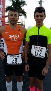 Jeff and Alex Gaura at PowermanUSA