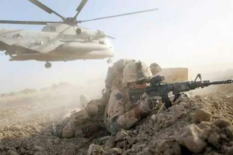marine-in-combat